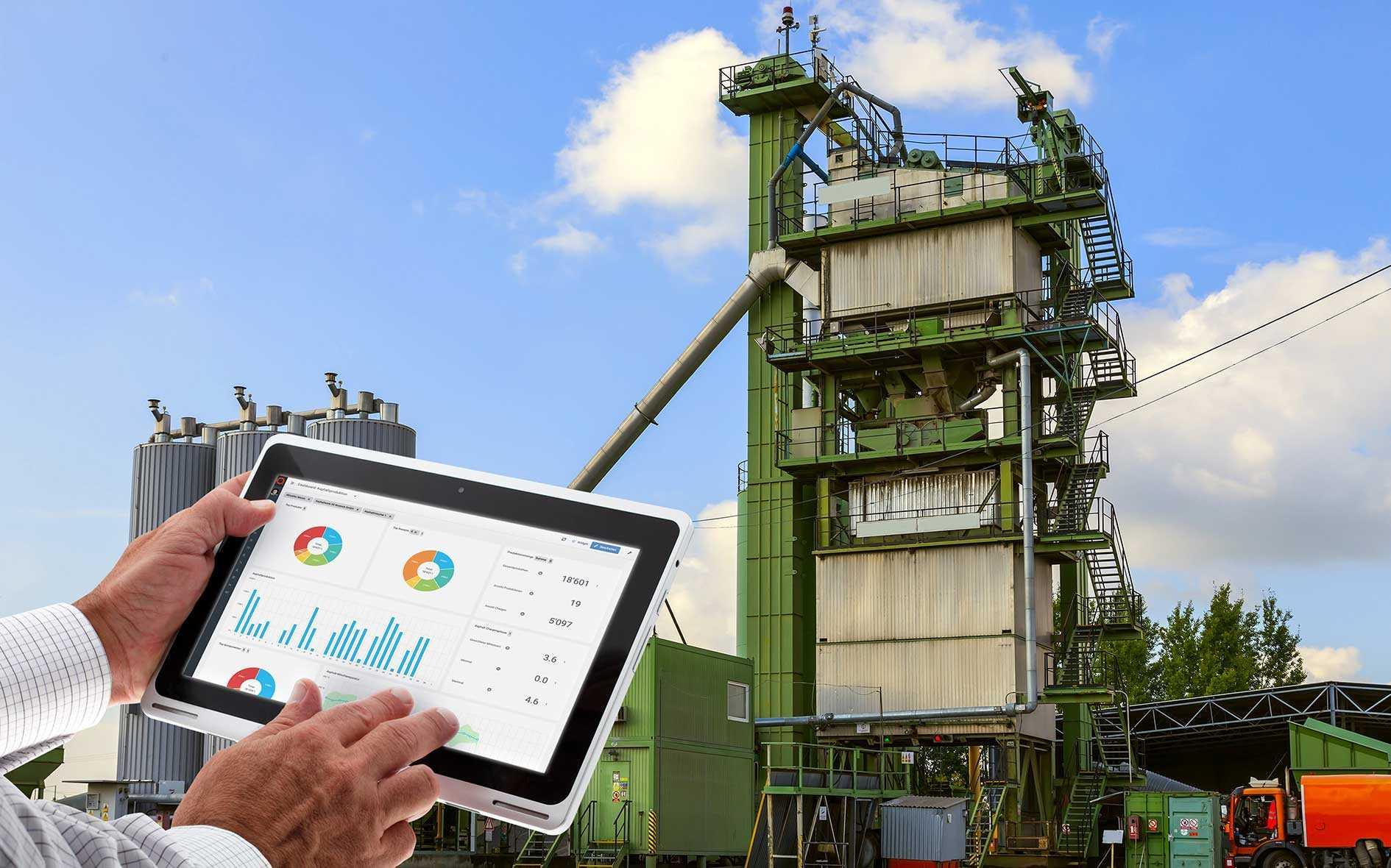 Q Plant Anlagenübergreifende Analyse